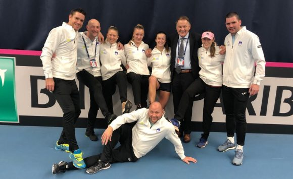Slovenia stays the member of I. Euro-African Fed Cup group