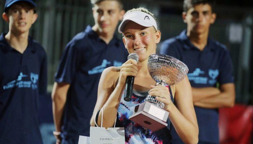 First $25.000 final, winner in doubles