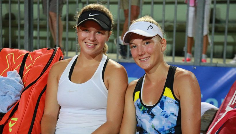 Doubles semifinal in Prague