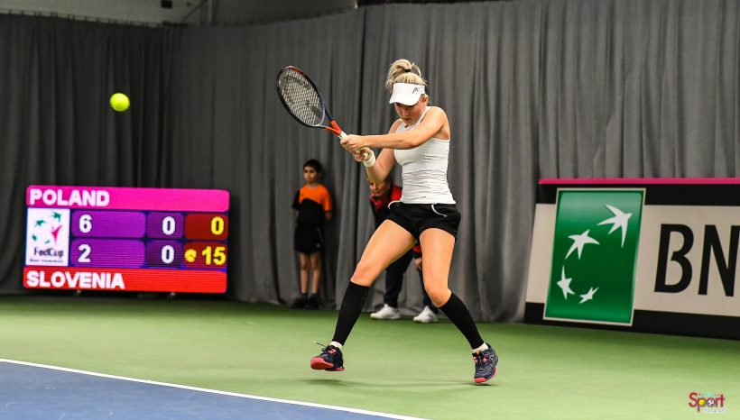 Fed Cup: Nika against top 50 WTA